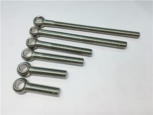 NO.38-904L 1.4539 UNS N08904 Bulón para os ollos, parafusos personalizados para a montaxe de válvulas