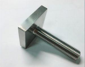 Fijación de parafuso cadrado de níquel Cooper monel400 uns n04400