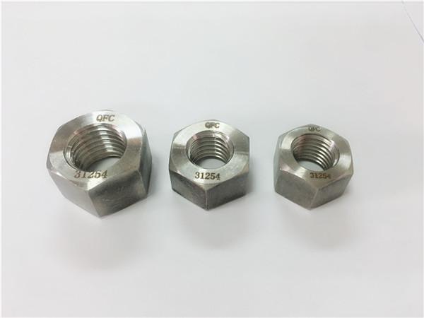fixadores de aceiro inoxidable gh2132 / a286 porcas hexagonal pesadas m6-m64