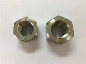 Nº111-Fabricación de noces hexagonal A453 660 1.4980