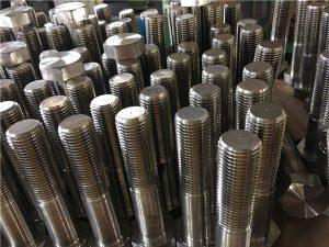 Nº 12 parafusos hexagonal ISO4014 medio fío A193 B8, B8M, B8T, B8C SS de fixación