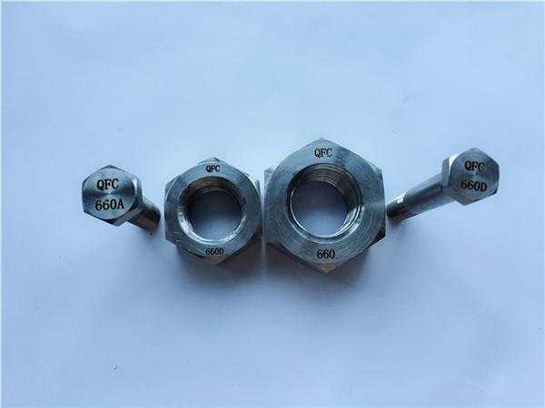 aleación de níquel c22 en 2.4602 todo parafuso de rosca nus hastelloy c 276