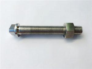N.º 27-AISI SAE 347 fixador de aceiro inoxidable