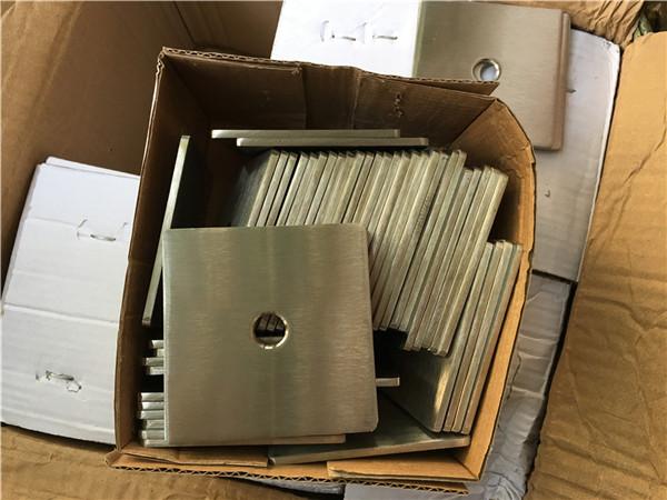 Lavadora / suxeición de placa cadrada de aceiro inoxidable super duplex s32205 (f60) personalizada