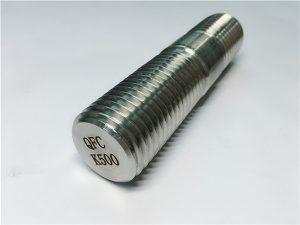 Nº62-barra roscada Monel K500