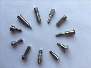 Parafuso de eixe de fixación No.65-Titanium, parafusos de motocicleta de titanio, pezas de ligas de titanio
