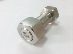 Perno parafuso en acero inoxidable dúplex de alta calidade n º 755
