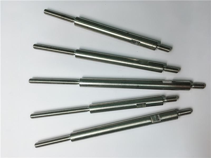 Prensas de rosca de aceiro inoxidable de mecanizado de precisión cnc
