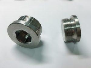 Perno de anel de aceiro inoxidable feito a medida con anel de clave ss