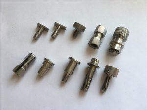 Tornillo personalizado de alta precisión, parafuso de acero inoxidable cnc