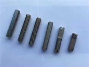 Tornillo de soldadura de titanio de excelente calidade de rosca inoxidable en China