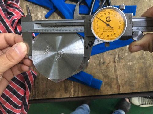S31803 Proba de dimensión do parafuso hexagonal
